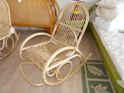 Rocking Chair 985 Rotin Avec écorce  -
